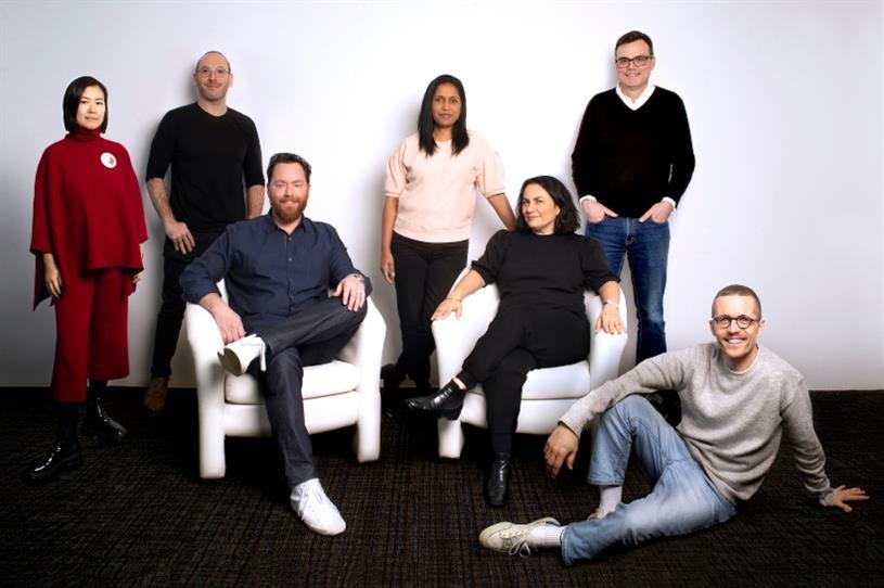 L-R: WeiWei Dong, Isaac Silverglate, Jeff Curry, Della Mathew, Renata Florio, John Long, Bastien Baumann