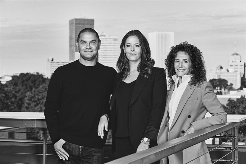 Partners + Napier's Sharon Napier, Courtney Cotrupe, and Rob Kottkamp