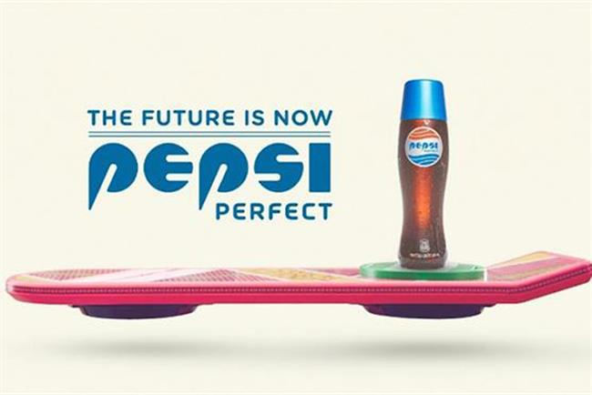 Pepsi is selling Pepsi Perfect, as conceived in 1989.
