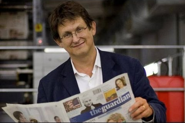 "Rusbridger: ""I am honored to succeed the quite brilliant Liz Forgan as chair of The Scott Trust."""