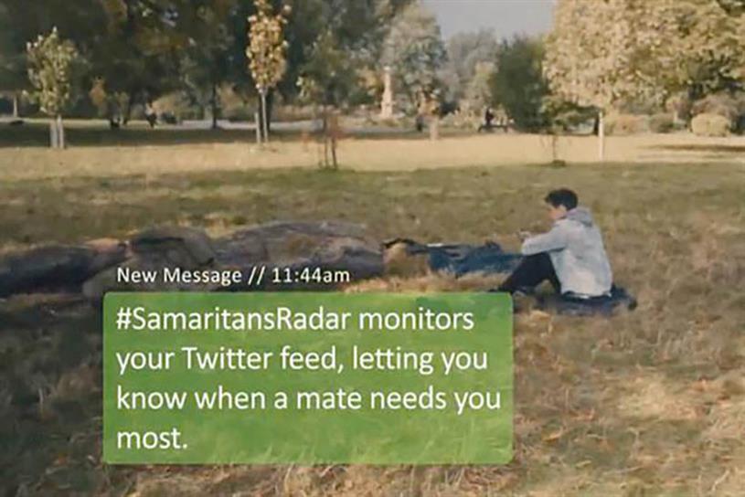 Samaritans Radar.