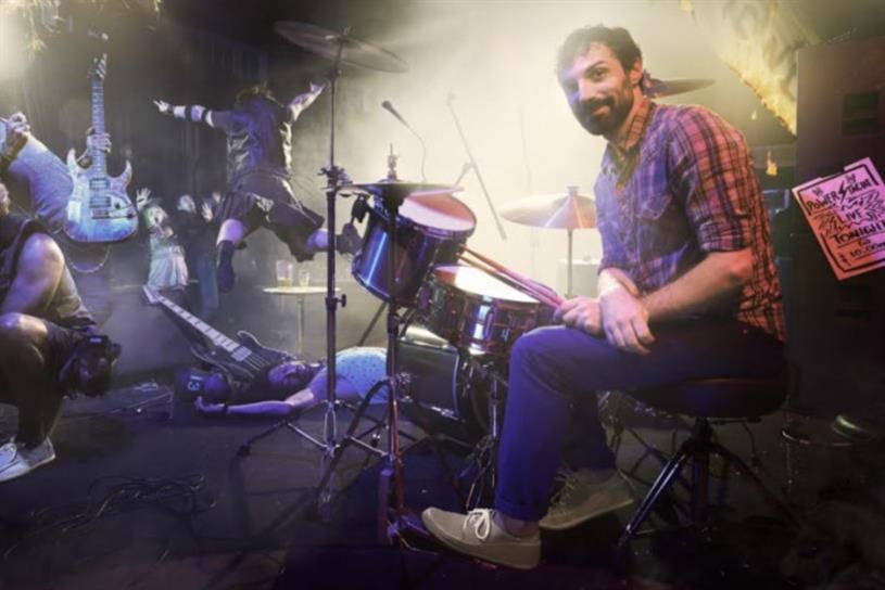 "Sanuk, ""Drummer Boy."""