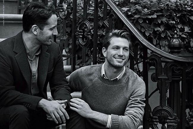 Tiffany & Co.'s ad features a real-life couple.
