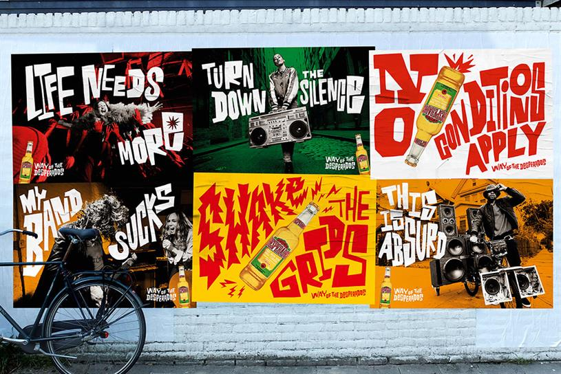 "Desperados ""Way of the Desperados"" by Wieden+Kennedy Amsterdam."