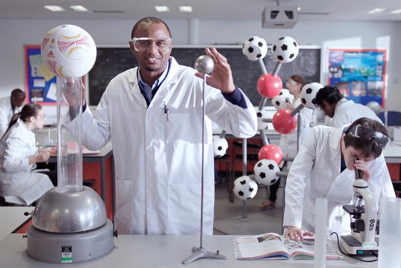 Western Union: 2012 global campaign starring ex-footballer Patrick Vieira.