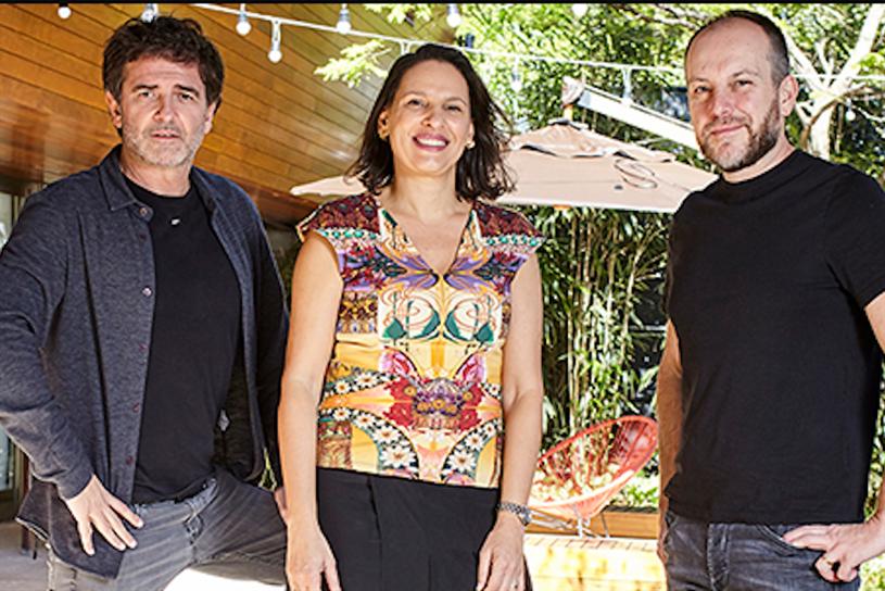 (L-R: Eduardo Lima, Fernanda Antonelli and Renato Simões).