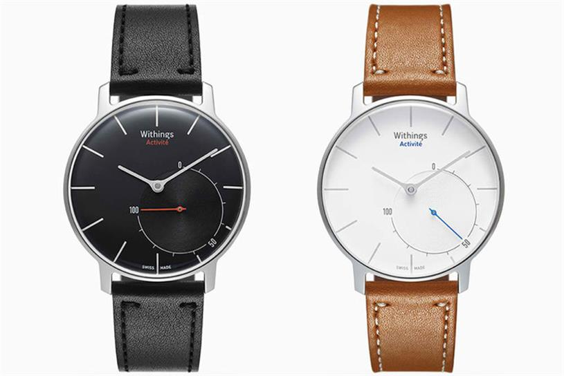 Withings Activité's classic design conceals smartwatch features.