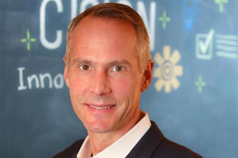 Cision's CEO Abel Clark.