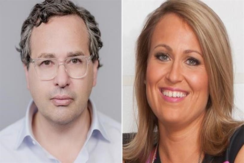 SurvivorNet cofounder Steve Alperin and executive editor Alison Maxwell