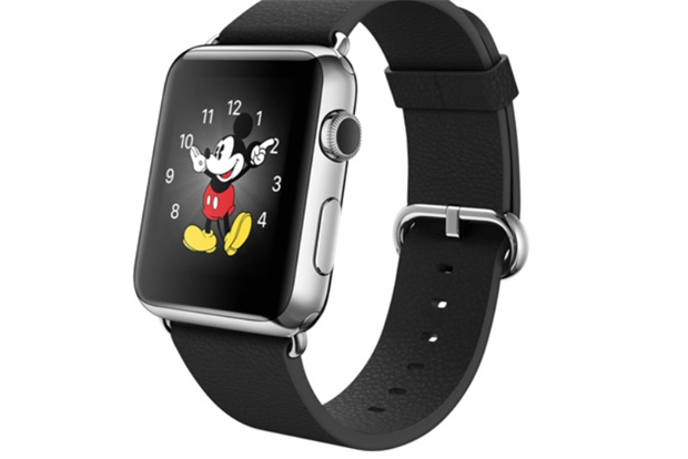 Apple Watch: Disney CEO Bob Iger counts himself a fan.