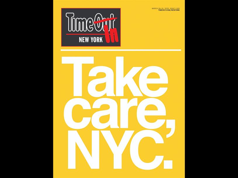 Time Out's New York magazine March 2020 edition