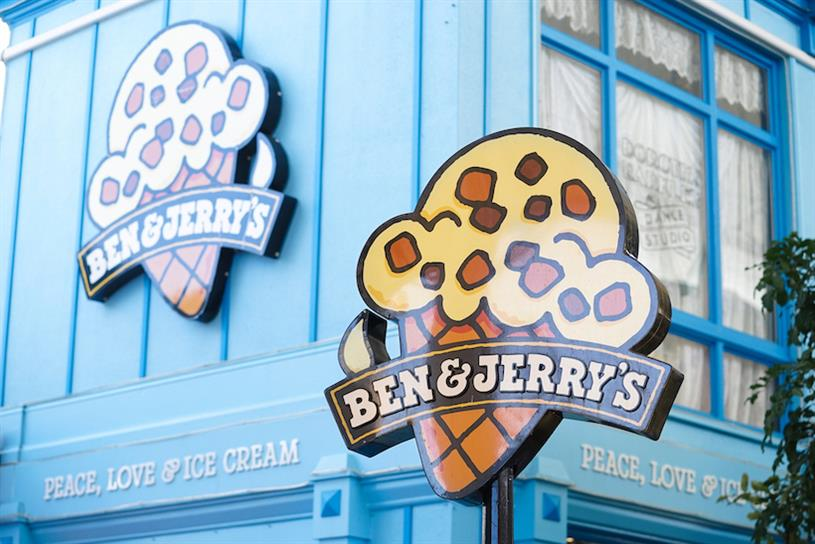 Ben & Jerry's returned to social media on Monday morning.