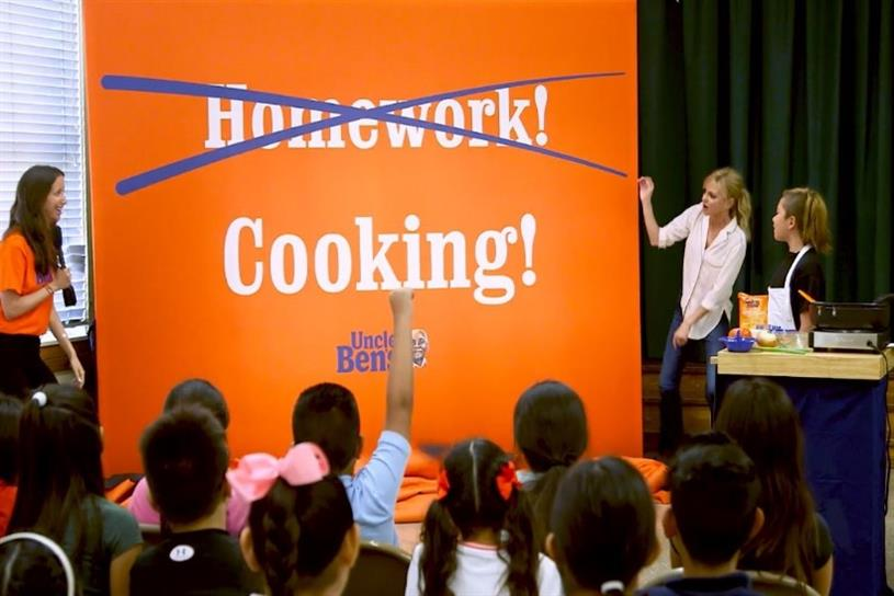 Uncle Ben's answers kids' prayers by canceling homework | Campaign US