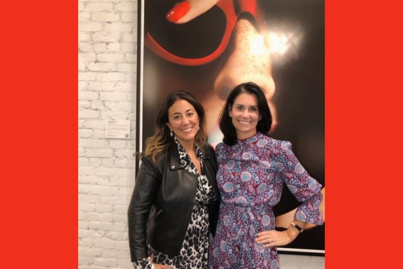 Cate Luzio, founder and CEO of Luminary; Jen DaSilva, president of Berlin Cameron