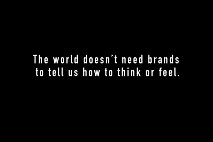 Frito-Lay's spot, which gently razzes brands for tell us how to feel, is a hit with many