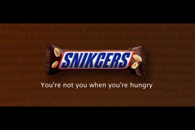 case study  how fame made snickers u0026 39   u0026 39 you u0026 39 re not you when