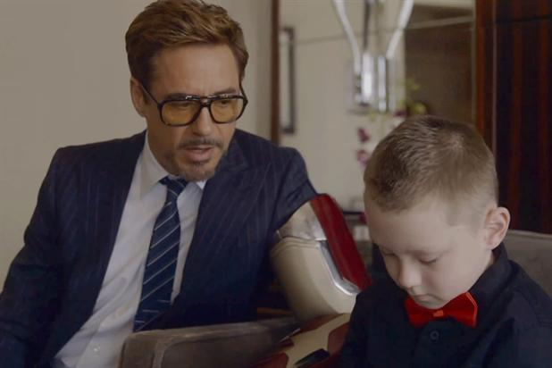 Robert Downey Jr: stars in spot for The Collective Project by Limbitless.