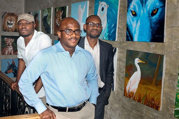 """Alausa, Adisa and Oyarero (l-r)…""""Finding our voice will require a good understanding of our audience and a mastery of messaging and craft."""""""