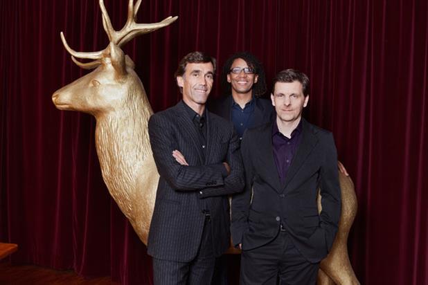 Hirschen Group (L-R): Martin Blach, Marcel Loko and Bernd Heusinger.