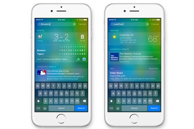 iOS 9: rethinking how search works in the mobile age.