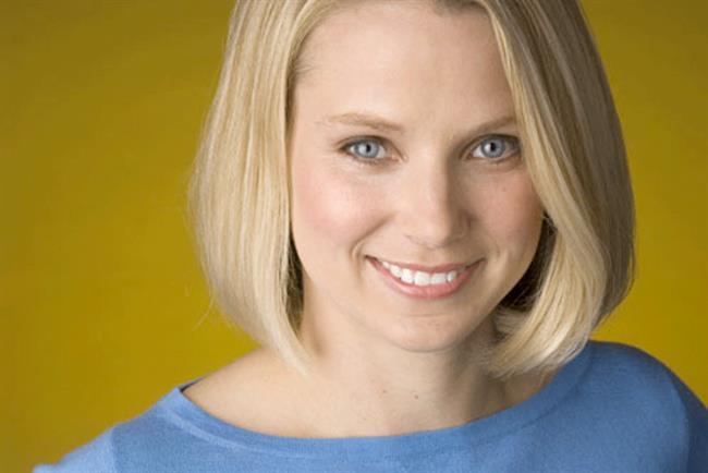 Yahoo President and CEO Marissa Mayer.