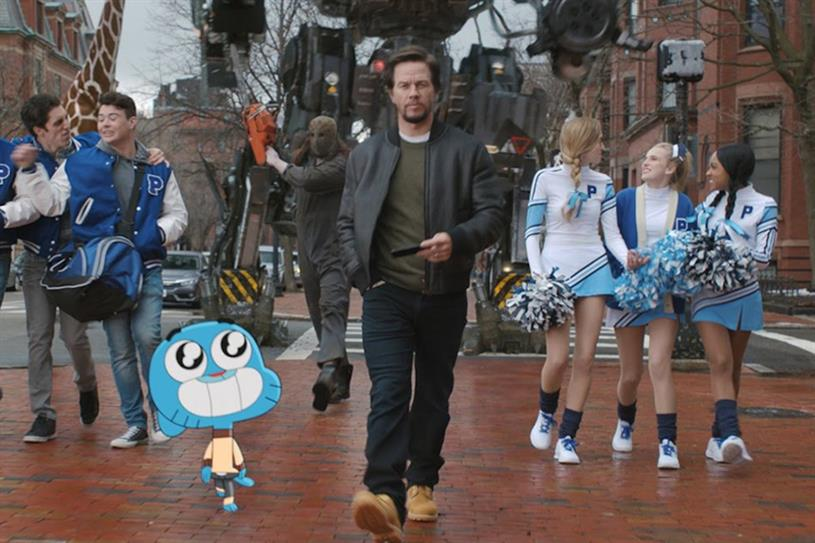 Mark Wahlberg makes a rare pitch to help AT&T pivot to entertainment ...