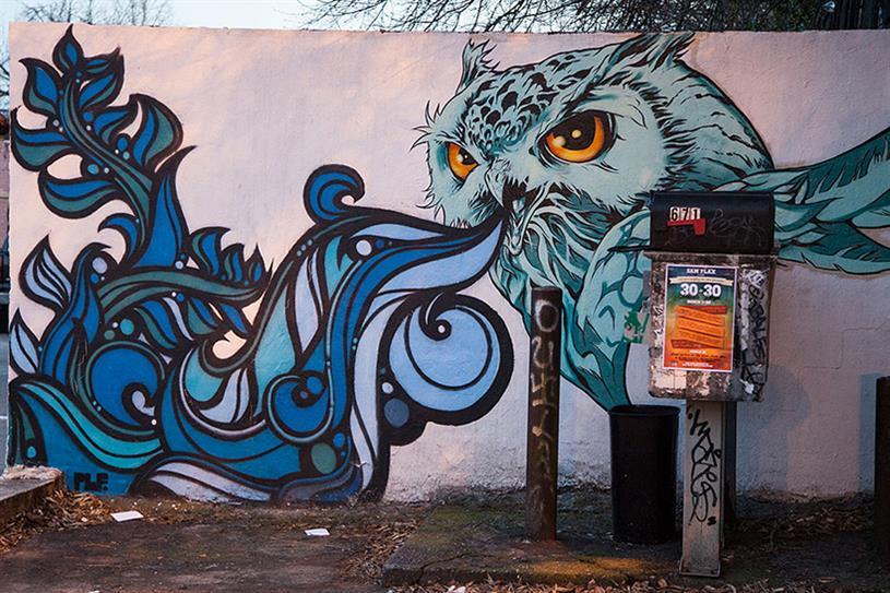 Public art in Old Fourth Ward, Atlanta (Photo by John E. Ramspott)