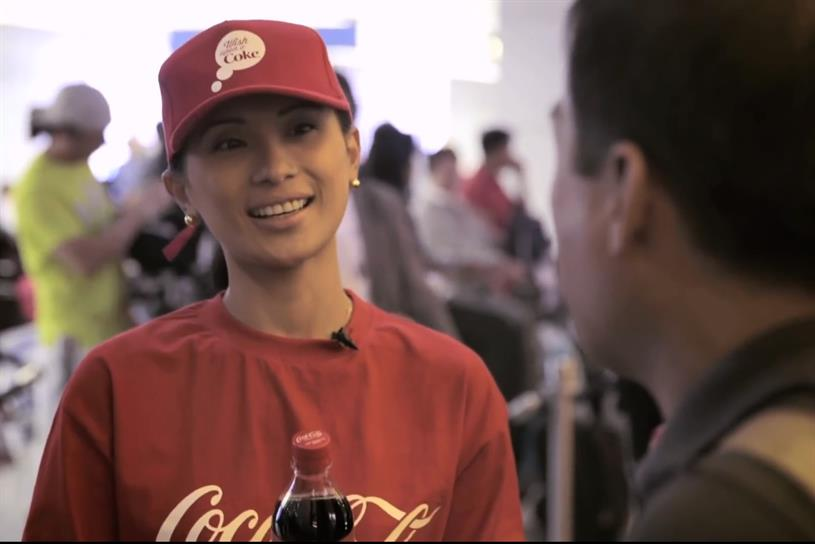 "Coca-Cola ""Taking Home Happiness #WishUponACoke"" by Y&R Dubai."