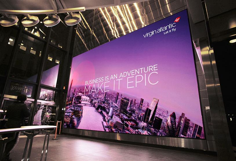 "Virgin Atlantic ""Business Is an Adventure"" by Figliulo&Partners."