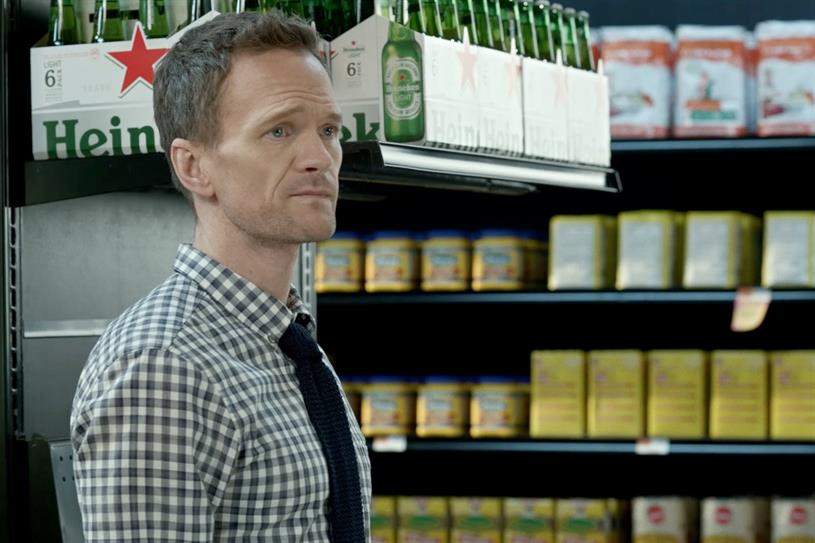 "Neil Patrick Harris ""Grocery Store"" by Wieden + Kennedy New York."