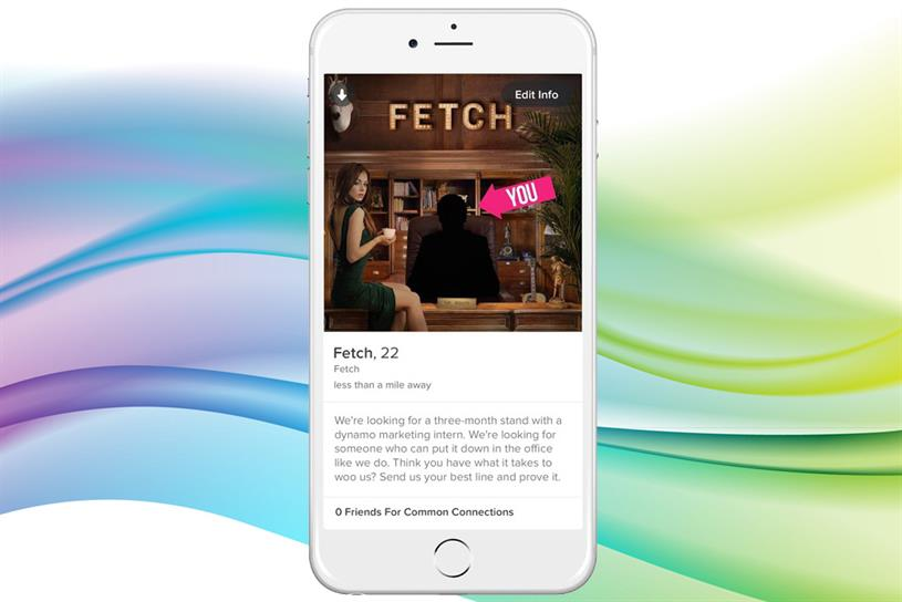 Fetch used app Tinder to attract talent.
