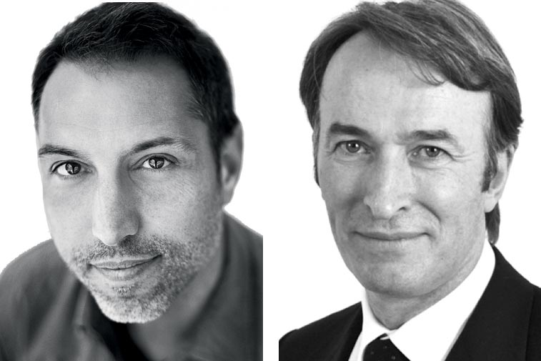 Jean-Francois Bouchard (left) and Michael Birkin.