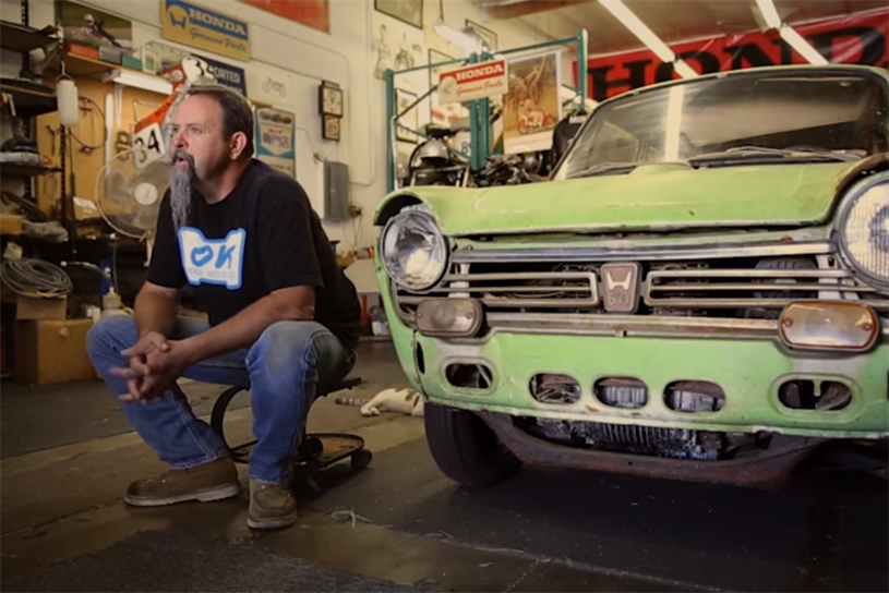 The First Honda In America Gets An Extreme Makeover In Weekly Web