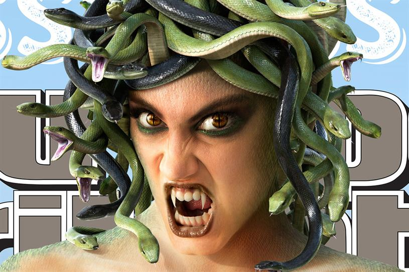 """Snickers """"Medusa"""" by BBDO New York."""
