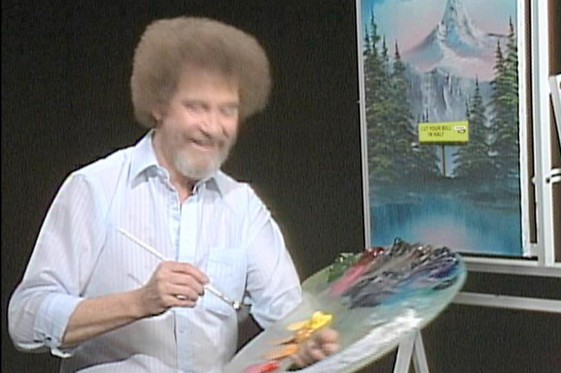 "Straight Talk Wireless ""Bob Ross"" by The Martin Agency."