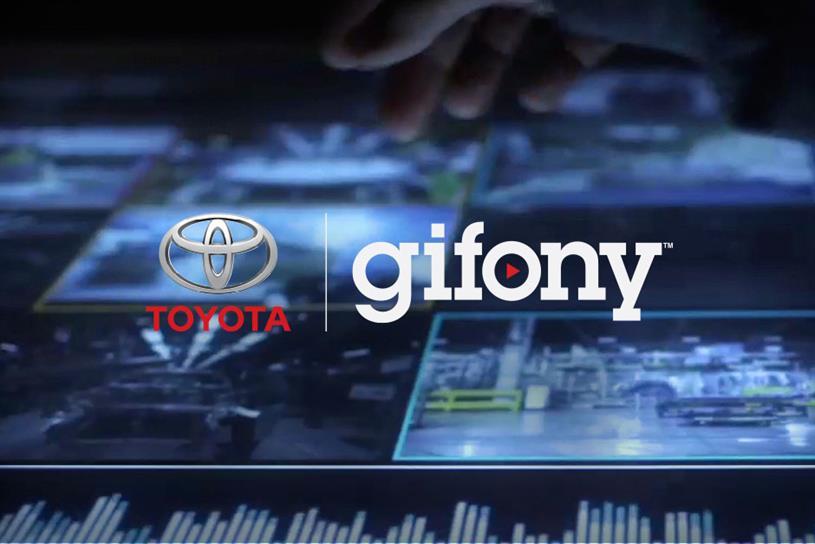 """Toyota """"Gifony"""" by 360i."""