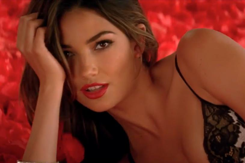 Victoria's Secret's Super Bowl ad.