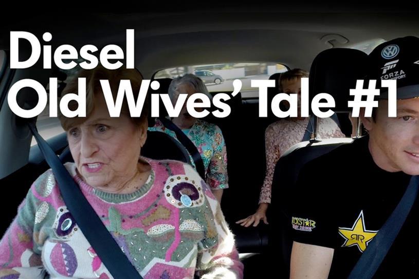 """Volkswagen """"Old Wives Tale"""" by Deutsch LA."""