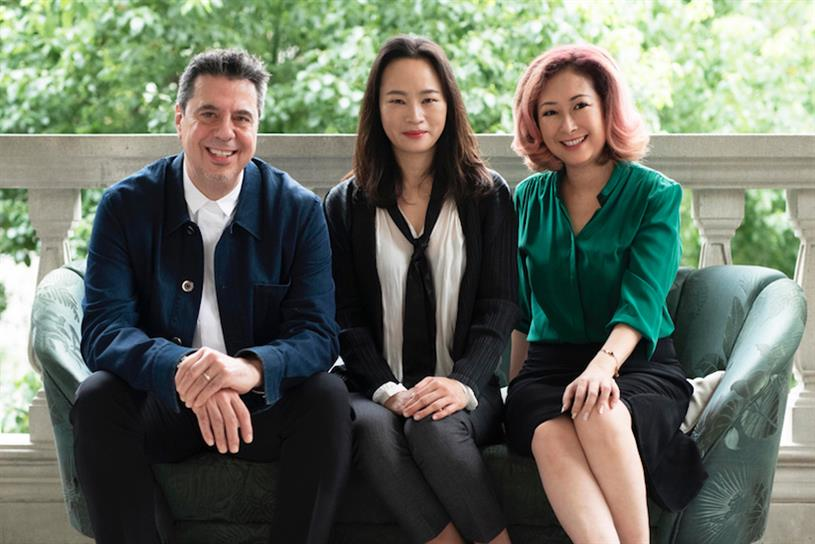 Left to right: Arto Hampartsoumian, Jane Lin-Baden, and Christine Ng