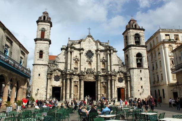 Catedral de San Cristobal in Havana.