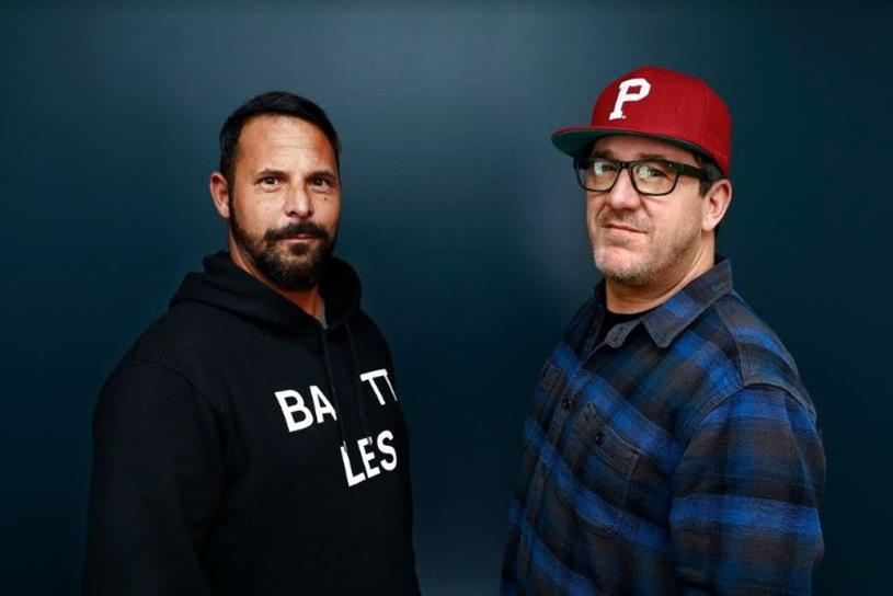 Oliver Frank (L) and Chris Toffoli (R) of DDB San Francisco