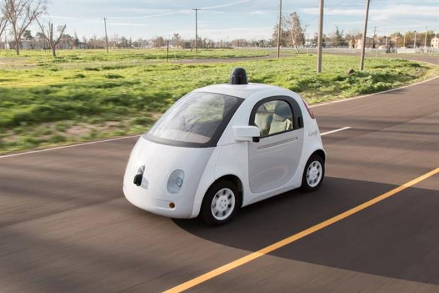Driverless cars: no steering wheel or brake pedal.