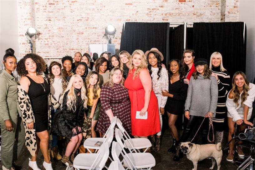 Hunter McGrady Hosts DSW's Inclusive Runway Redone Show with Create & Cultivate at Industria in NYC on September 4, 2019. Photo credit: Smith House Photo.