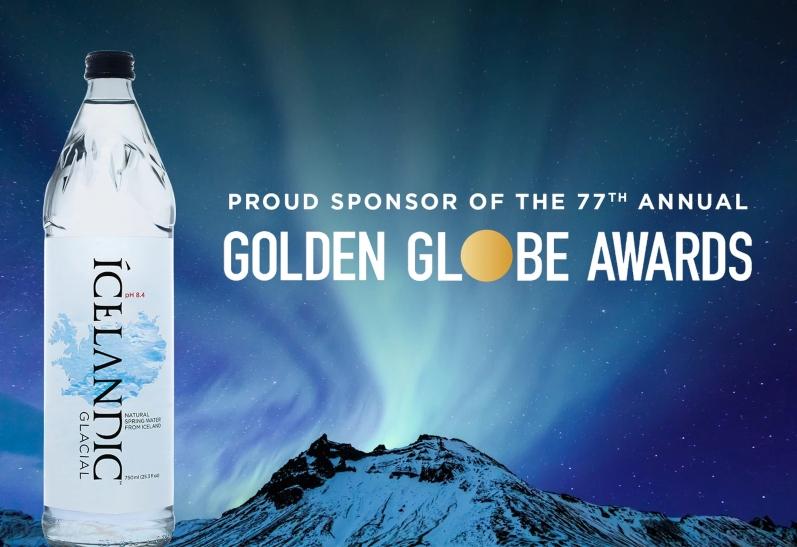 Icelandic Glacial Overthrows Fiji Water As Golden Globe