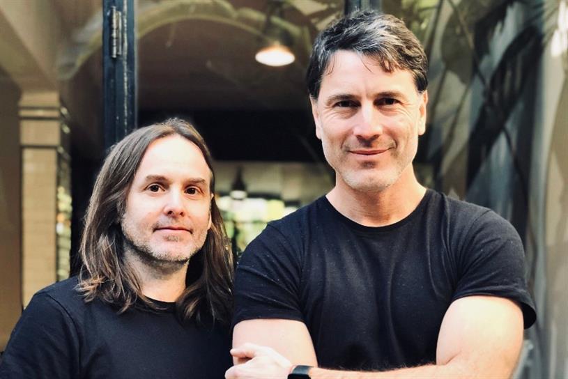 GUT's new partners Joaquín Cubria (L) and Ignacio Ferioli (R)