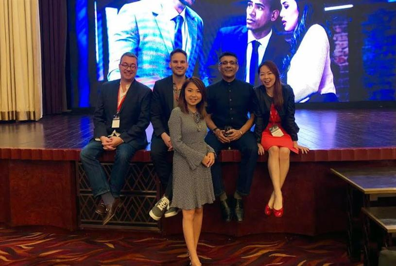 Notice team attending the Intel Partner Summit in Hong Kong October 2018 (L to R): Jonathan Weerts, Nicholas Kinports, Shumin Li, Vivek Sharma, Clair Ji