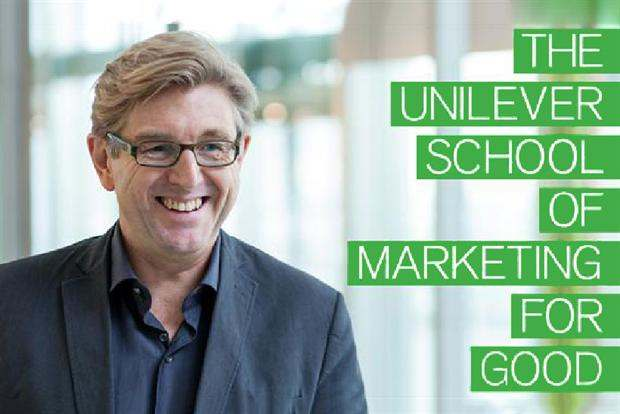 Unilever's Keith Weed: brands with purpose deliver growth.