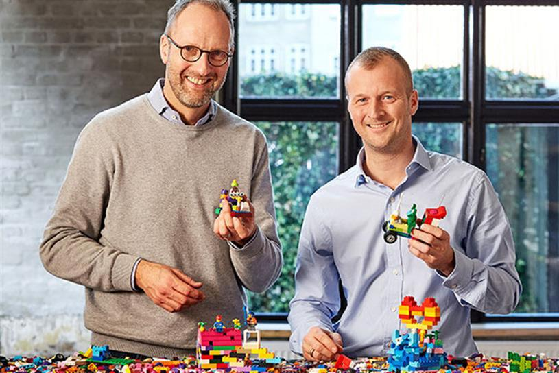 Lego's Jørgen Vig Knudstorp and Thomas Kirk Kristiansen