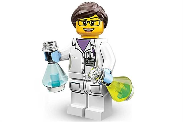 Lego professor: Cambridge gets playful.
