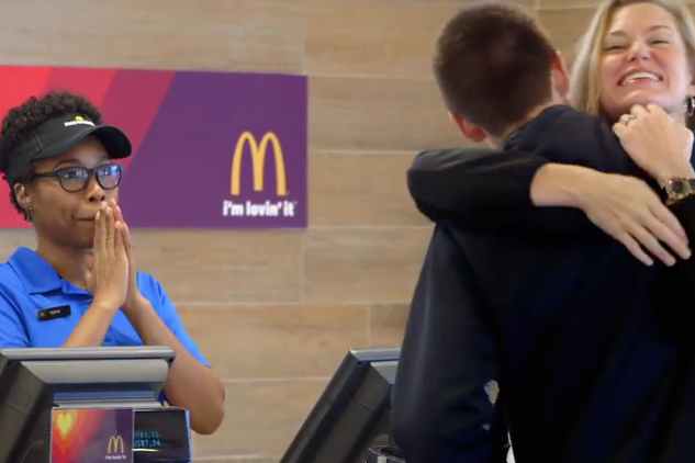 McDonald's 'Pay With Lovin' by Leo Burnett Chicago.